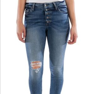 Kut from the Kloth Connie high rise ankle jeans